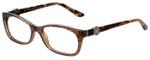 Versace Designer Eyeglasses 3164-991 in Lizard Brown 53mm :: Progressive