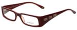 Versace Designer Reading Glasses 3105-771 in Burgundy 49mm