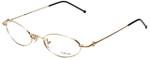 Versace Designer Eyeglasses M17-030 in Gold 52mm :: Custom Left & Right Lens