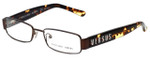 Versus Designer Eyeglasses 7083-1006 in Brown & Tortoise 51mm :: Custom Left & Right Lens