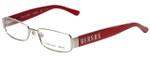 Versus Designer Eyeglasses 7083-1232 in Red & Pink Stripes 51mm :: Custom Left & Right Lens