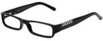 Versus Designer Eyeglasses 8069-GB1 in Black 50mm :: Custom Left & Right Lens