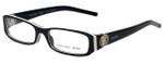 Versus Designer Eyeglasses 8076-657 in Black 51mm :: Custom Left & Right Lens