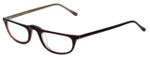 Ellen Tracy Designer Eyeglasses ET3000-ROBE in Red 50mm :: Rx Single Vision