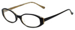 Ellen Tracy Designer Eyeglasses ET3002-BKDA in Black 52mm :: Rx Single Vision