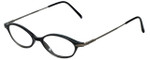 Ellen Tracy Designer Eyeglasses ET3004-BLK in Black 47mm :: Rx Single Vision