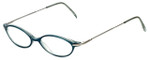 Ellen Tracy Designer Eyeglasses ET3004-TL in Teal 47mm :: Rx Single Vision