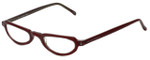 Ellen Tracy Designer Eyeglasses ET3009-BER in burgundy 48mm :: Rx Single Vision