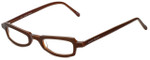Ellen Tracy Designer Eyeglasses ET3011-BRN in Brown 47mm :: Rx Single Vision