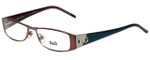 Dolce & Gabbana Designer Reading Glasses DG5028-147-51 in Brown Turquoise 51mm
