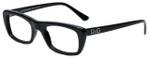 Dolce & Gabbana Designer Eyeglasses DG1107-501 in Black 50mm :: Custom Left & Right Lens