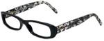 Dolce & Gabbana Designer Eyeglasses DG3063M-1891 in Black Lace 52mm :: Custom Left & Right Lens