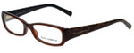 Dolce & Gabbana Designer Eyeglasses DG3085-1830 in Brown 53mm :: Custom Left & Right Lens
