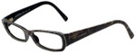 Dolce & Gabbana Designer Eyeglasses DG3085-1995 in Dark Leopard 53mm :: Custom Left & Right Lens