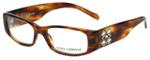 Dolce & Gabbana Designer Eyeglasses DG3048B-677 in Havana 50mm :: Rx Single Vision