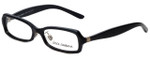 Dolce & Gabbana Designer Eyeglasses DG3051N-636 in Black Marble 53mm :: Rx Single Vision