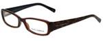 Dolce & Gabbana Designer Eyeglasses DG3085-1830 in Brown 53mm :: Rx Single Vision