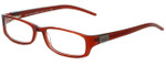 Dolce & Gabbana Designer Eyeglasses DG4124-K28 in Burgundy 52mm :: Rx Bi-Focal