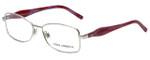 Dolce & Gabbana Designer Eyeglasses DG1189M-389 in Silver Pink 53mm :: Custom Left & Right Lens