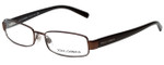 Dolce & Gabbana Designer Reading Glasses DG1144M-223 in Brown 52mm