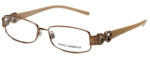 Dolce & Gabbana Designer Reading Glasses DG1146B-227 in Nude 51mm