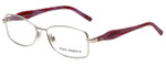 Dolce & Gabbana Designer Reading Glasses DG1189M-389 in Silver Pink 53mm