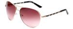 Harley Davidson Designer Sunglasses HDS5016-GLD in Gold with Rose Gradient Lens