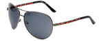 Harley Davidson Designer Sunglasses HDS5016-GUN in Gunmetal with Grey Lens