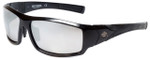 Copy of Harley-Davidson Official Designer Sunglasses HD0630S-01C in Black Frame with Silver Flash Lens