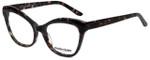 Marie Claire Designer Eyeglasses MC6234-BLK in Black Grey Marble 53mm :: Custom Left & Right Lens