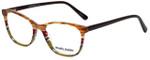 Marie Claire Designer Eyeglasses MC6246-APS in Apple Stripe 53mm :: Rx Single Vision