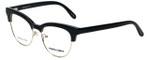 Marie Claire Designer Eyeglasses MC6247-BKG in Black Gold 51mm :: Rx Single Vision