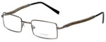 Gold & Wood Designer Eyeglasses 410.9-106 in Gunmetal 47mm :: Custom Left & Right Lens