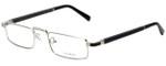 Gold & Wood Designer Eyeglasses Centaur-02 in Silver 52mm :: Rx Single Vision
