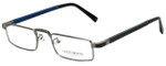 Gold & Wood Designer Eyeglasses Centaur-03 in Gunmetal 52mm :: Rx Single Vision
