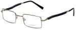 Gold & Wood Designer Reading Glasses 410.16-E6 in Silver 47mm