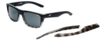 Arnette Designer Sunglasses Syndrome AN4217-232787 in Black Grey Fade & Grey Lens
