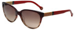 Carolina Herrera Designer Sunglasses SHE572-0ACL in Red