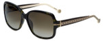 Carolina Herrera Designer Sunglasses SHE574-0722 in Tortoise