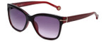 Carolina Herrera Designer Sunglasses SHE575-0J61 in Dark Red