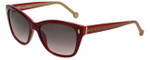 Carolina Herrera Designer Sunglasses SHE596-09RY in Red