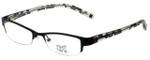 Hilary Duff Designer Eyeglasses HD121077-001 in Black Lace 49mm :: Custom Left & Right Lens