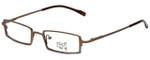 Hilary Duff Designer Eyeglasses HD121079-059 in Brown 48mm :: Rx Single Vision