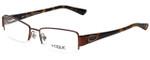 Vogue Designer Eyeglasses VO3891BI-811 in Brown Tortoise 51mm :: Rx Single Vision