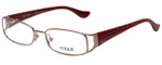 Vogue Designer Eyeglasses VO3910-756 in Maroon 53mm :: Progressive