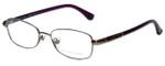 Michael Kors Designer Eyeglasses MK360-038 in Gunmetal Purple 51mm :: Rx Single Vision