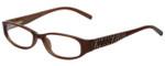 Michael Kors Designer Eyeglasses MK658-210 in Brown 50mm :: Rx Single Vision