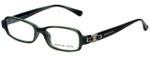 Michael Kors Designer Eyeglasses MK619-306 in Green 46mm :: Progressive