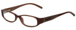 Michael Kors Designer Reading Glasses MK658-210 in Brown 50mm