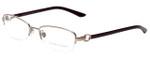 Ralph Lauren Designer Eyeglasses RL5067-9095 in Gold Bordeaux 52mm :: Custom Left & Right Lens
